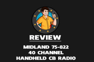 Midland 75-822 40 Channel Handheld CB Radio