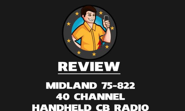 Midland 75-822 40 Channel Handheld CB Radio